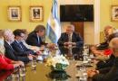 Presidente de Argentina, recibe a Alianza de Iglesias Evangélicas