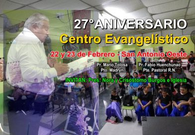 27° Aniversario del Iglesia Centro Evangelístico S.A.O.